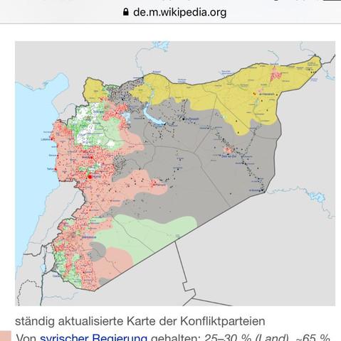 Karte  - (Krieg, syrien)