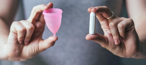 tasse vs tampon - (Frauen, Periode, Tage)
