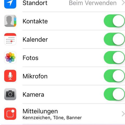 Für gewisse Apps die Hintergrundaktualisierungdn deaktivieren - (iPhone, Akku, IPhone 5s)