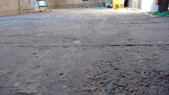 Flächenansicht 2 - (Fussboden, fussbodenheizung, Estrich)