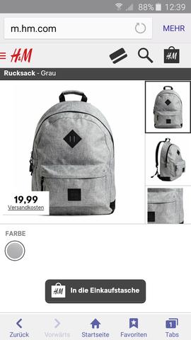 das ist der rucksack - (Schule, Rucksack)