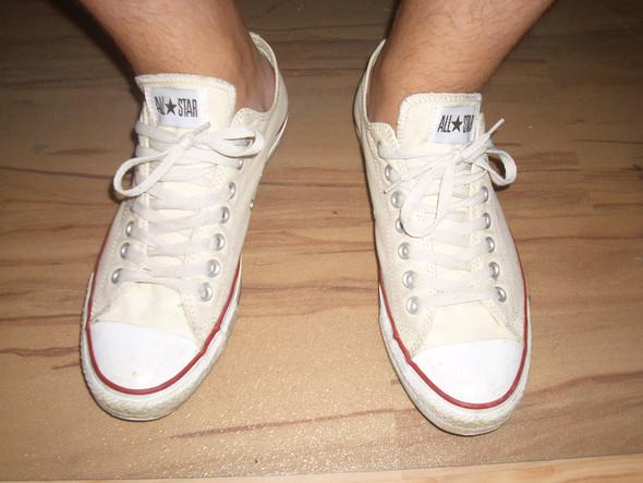 Chucks ohne Socken  - (Mädchen, Mode, Kleidung)
