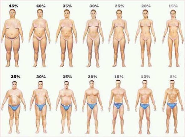 Figur normalgewicht alter