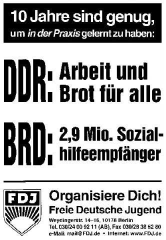 FDJ-Plakate - (DDR, Sozialismus, Planwirtschaft)
