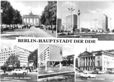 Berlin DDR - (DDR, Sozialismus, Planwirtschaft)