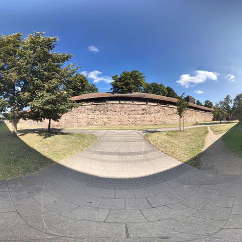 ubahn ausgang Panorama im Quadrat - (Internet, Google, Sicherheit)