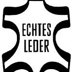 Echt-Leder-Zeichen - (Kleidung, shoppen, Tasche)