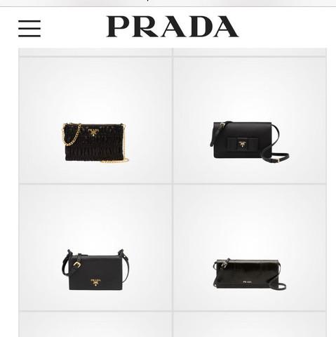 Prada - (Mode, schwarz, Tasche)