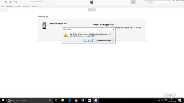 hier - (iPhone, Wiederherstellung)
