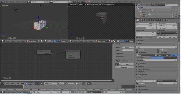 - (Animation, Blender, Modelling)