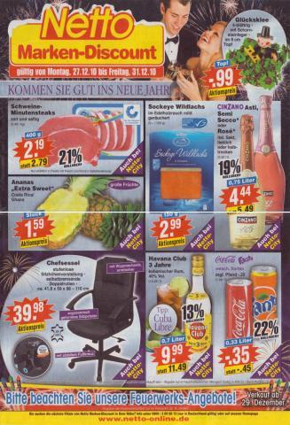 Coca-Cola Dosen, Netto Handzettel - (Geld, billig, Handel)