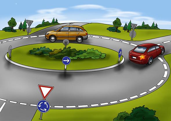- (Auto, Verkehr, Straße)