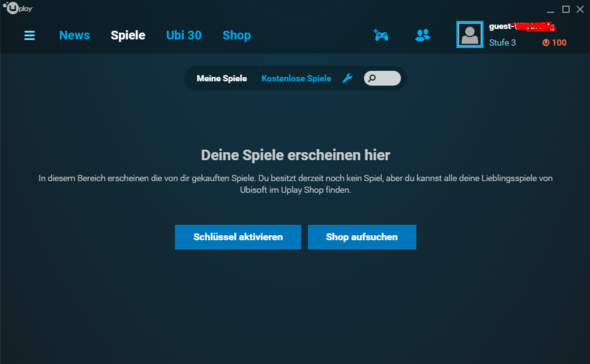 - (Spiele, Games, uplay)