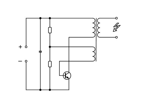 schaltplan elektrische fliegenklatsche elektronik. Black Bedroom Furniture Sets. Home Design Ideas