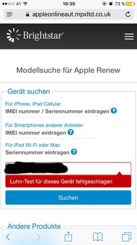 Luhn Test - (iPhone, Apple, iPad)