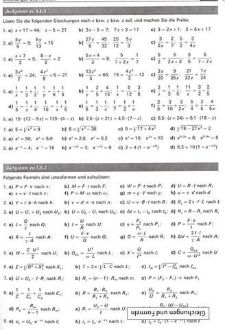 Gleichungen - (Schule, Mathematik, lernen)
