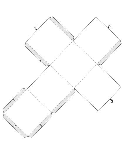 Ergebnis des Blender-Scriptes - (3D, Cosplay, Blender)