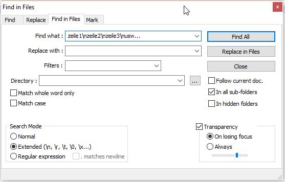 - (Windows, Text, html)