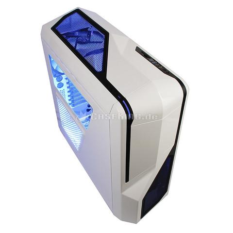 NZXT Phantom 410 weiß - (Gaming, Hardware, Maus  Tastatur)