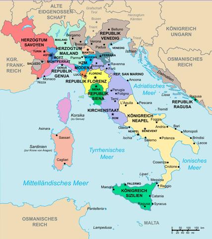 - (Italien, Renaissance, Römisches Reich)