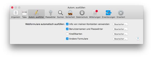 Safari, Einstellungen - (Apple, Sicherheit, mac-os-x)