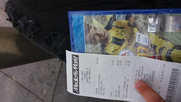 FIFA 17 Kauf am 27.09.2016 - (Spiele, Fifa)