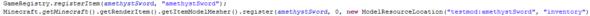 Item Registrierung in Hauptklasse(testmod_mainclass.java) - (Minecraft, programmieren, Fehler)