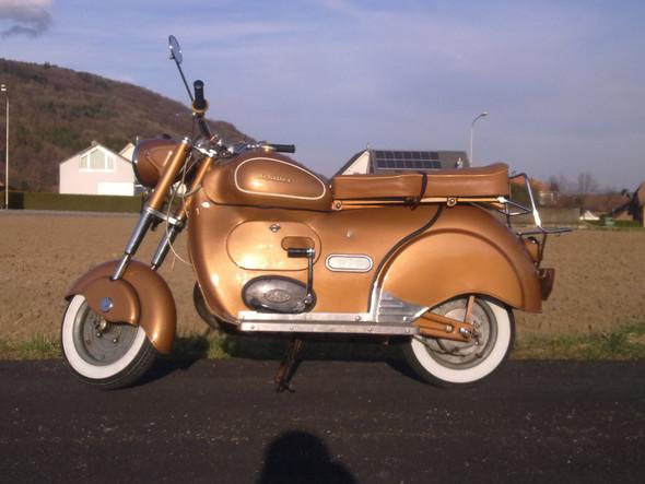 AMI Motorrad / Achilles Sport Roller - (Motorrad, Hobby, Motorroller)