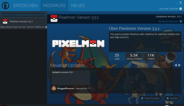 Minecraft Pixelmon Installation Mods