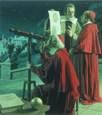 Galileo zeigt die Monde des Jupiter - (Geschichte, Sonne, Erde)