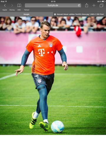 Also wie z.B Manuel Neuer  - (Fußball, Profi, Torwart)
