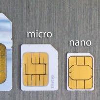 Micro is fürs 4er usw die neueren Modelle brauchen Nano das is noch kleiner  - (iPhone, SIM-Karte)