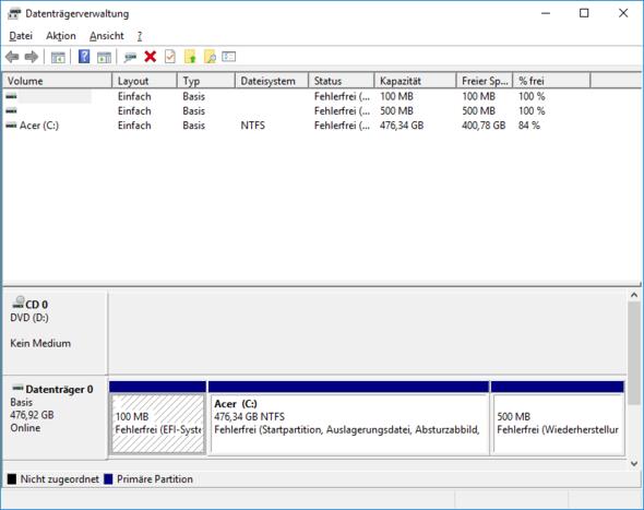 - (Windows 10, Nerven)