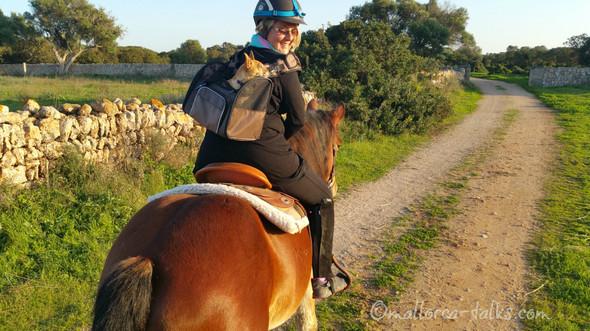 Meine Angst vor Pferden bin ich auch los! ;-)  - (Angst, Hund)