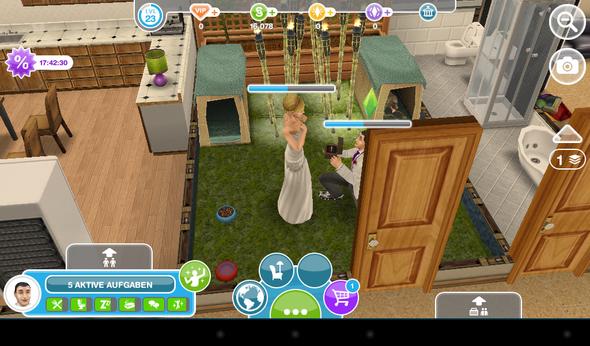 hier heiraten gerade meine sim - (Sims, heiraten)
