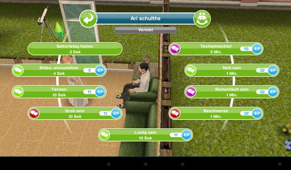 ;) - (Sims, heiraten)