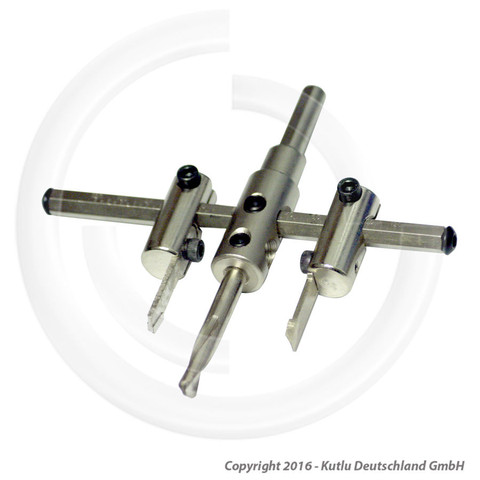 Lochsäge  - (Handwerk, Aluminium, metallbearbeitung)
