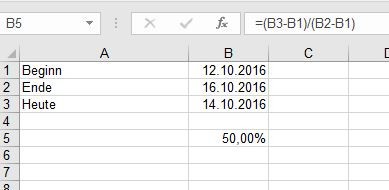 Excel Prozentuales Verhältnis Zwischen 2 Gegeben Daten Gemeint