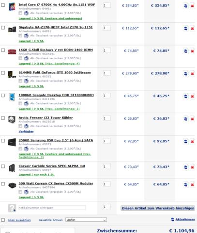 PC + 10 Euro für Windows 10 - (Computer, PC, Gaming)