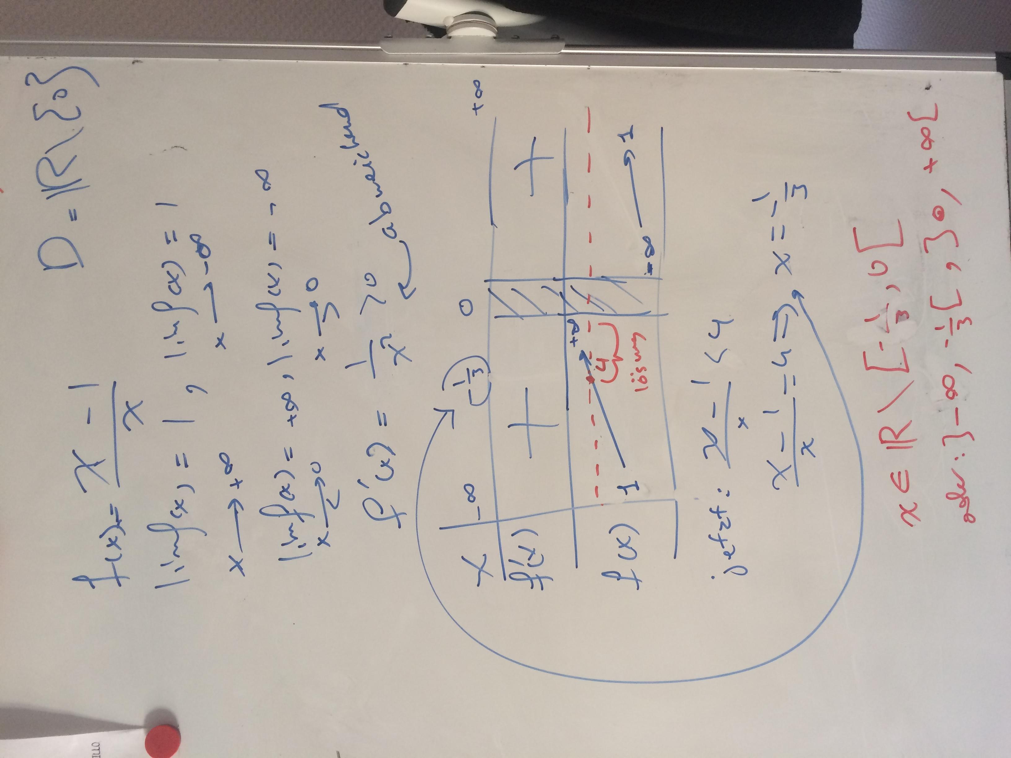 x-1/x < 4 [fallunterscheidung]? (bruch, ungleichungen)