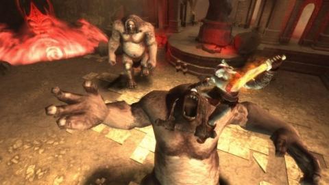 Ein bild von God of War 2 (GoW 2) - (Spiele, PSP, Playstation portable)