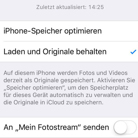Screenshot - (Handy, iPhone, Laden)