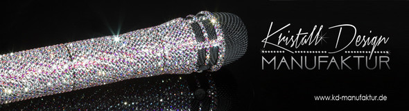 Glitzermikrofon - (Mikrofon, Karaoke)