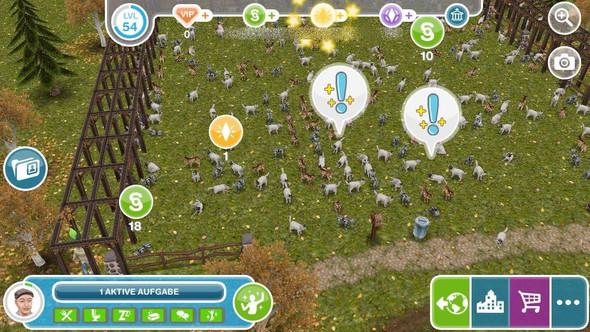 Nachbar-Farmen - (Sims, Sims Freeplay)
