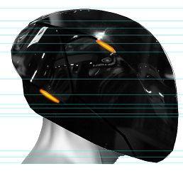 Helmet - (DIY, Helm, tron)