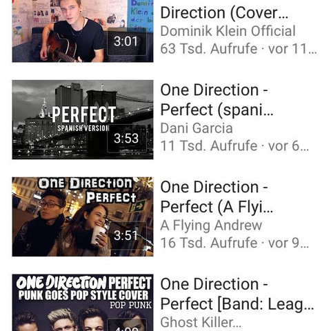 4 Bild  - (Gitarre, Cover, One Direction)