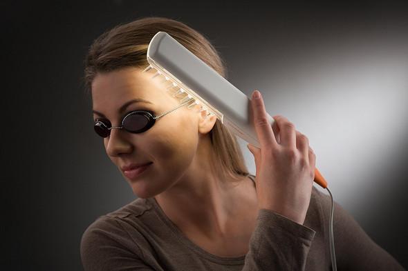 UV Anwendung auf dem Kopf - (Schweiß, Schuppen, Kopfhaut)