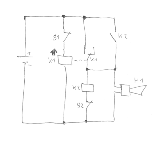 welches relais f r alarmanlage technik. Black Bedroom Furniture Sets. Home Design Ideas