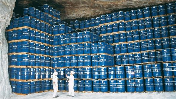 chem. Abfall im weltweit größten chem. Endlager Herfa-Neurode Hessen - (Atomkraft, AKW, kernkraft)