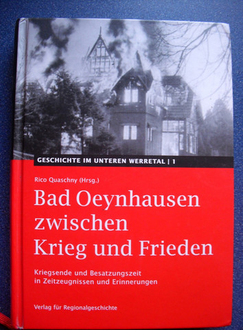 Besatzungszeit Bad Oeynhausen etc. - (Deutschland, Krieg)
